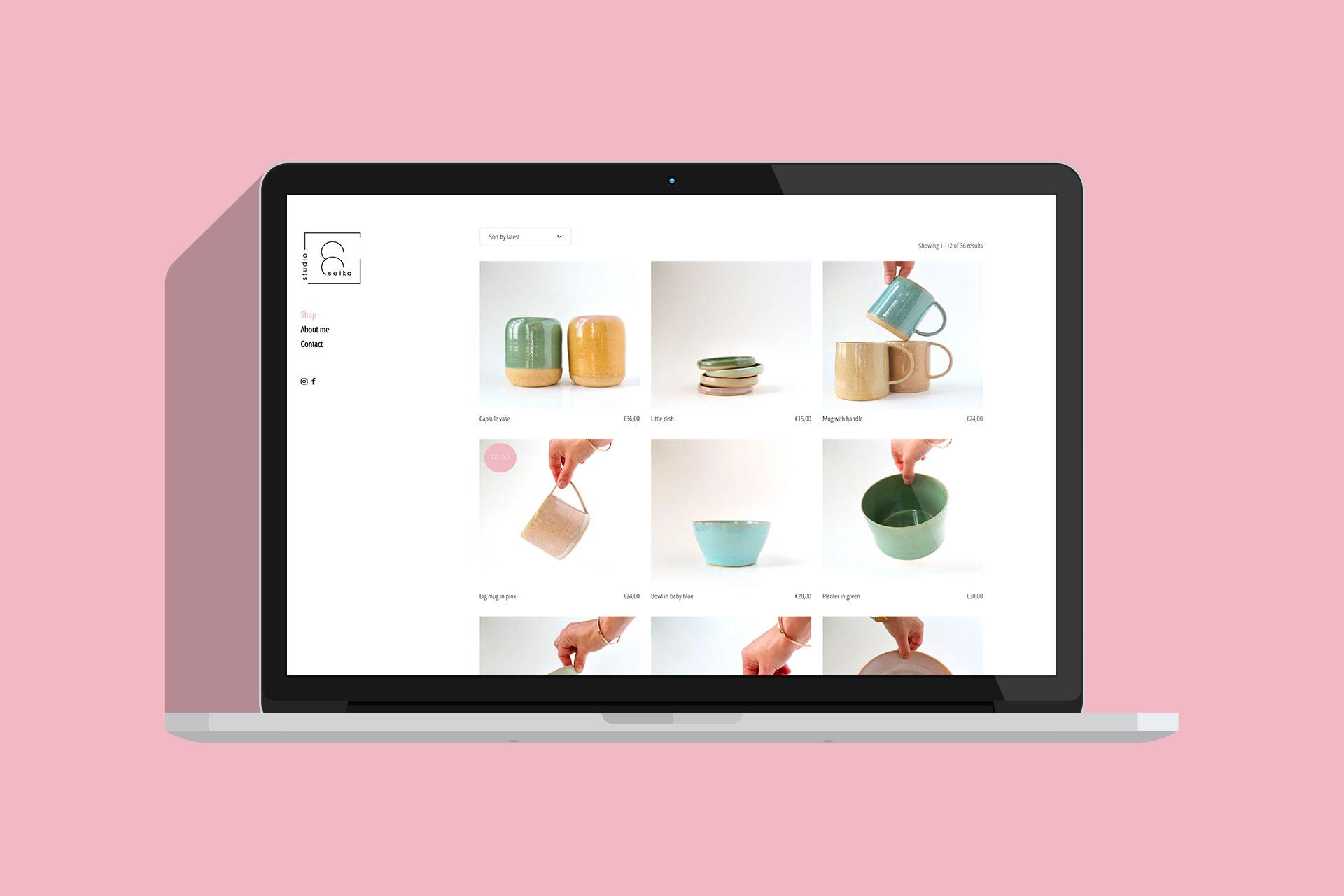 Studio Seika websiteafbeelding