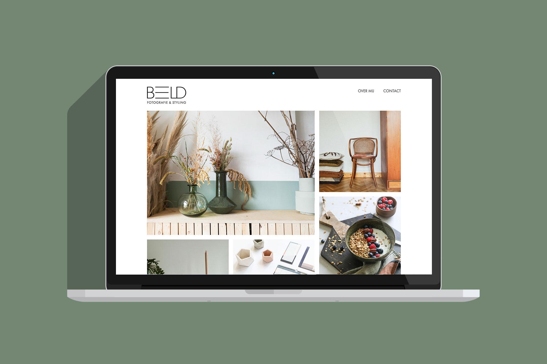 Be-eld websiteafbeelding