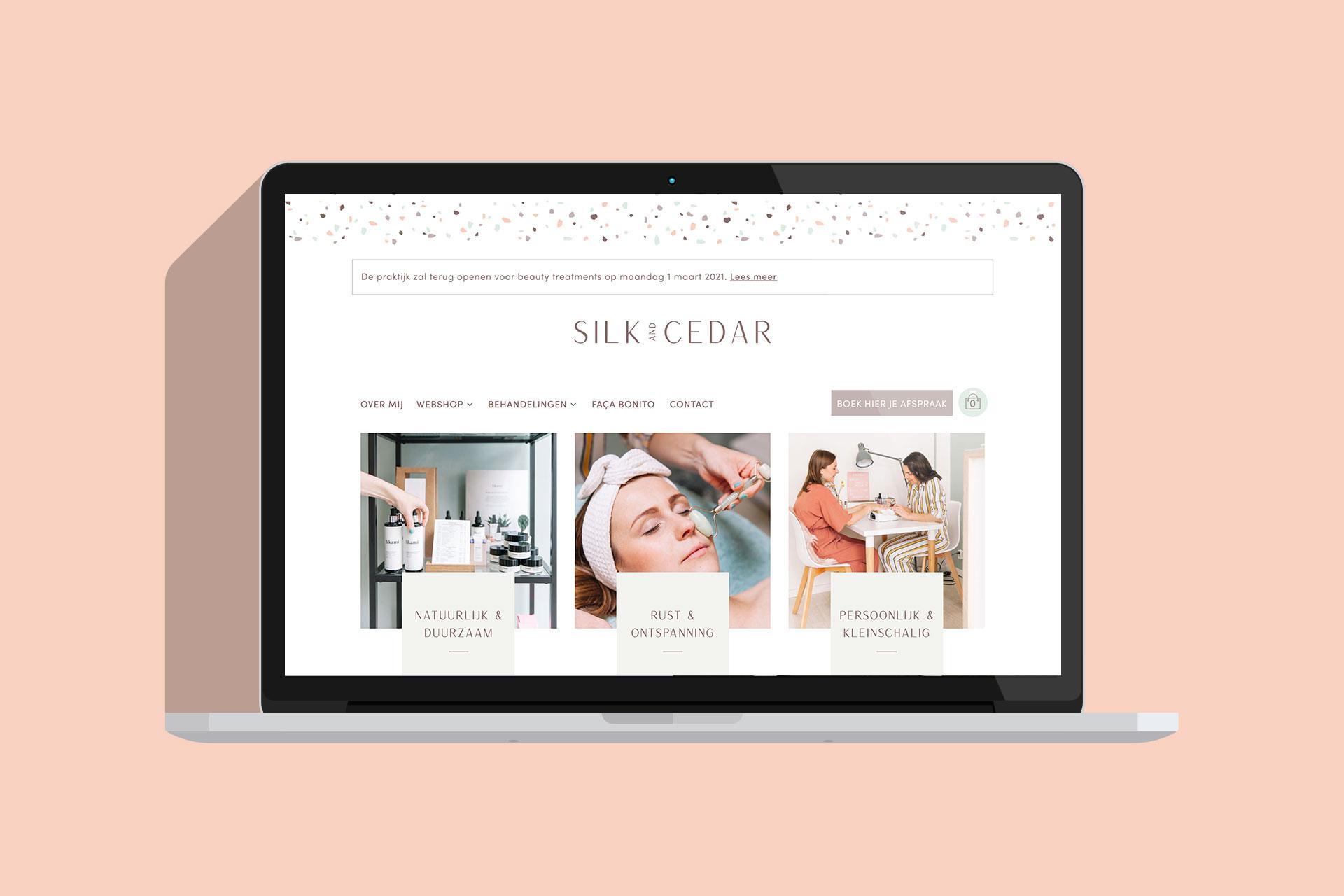 Silk Cedar websiteafbeelding