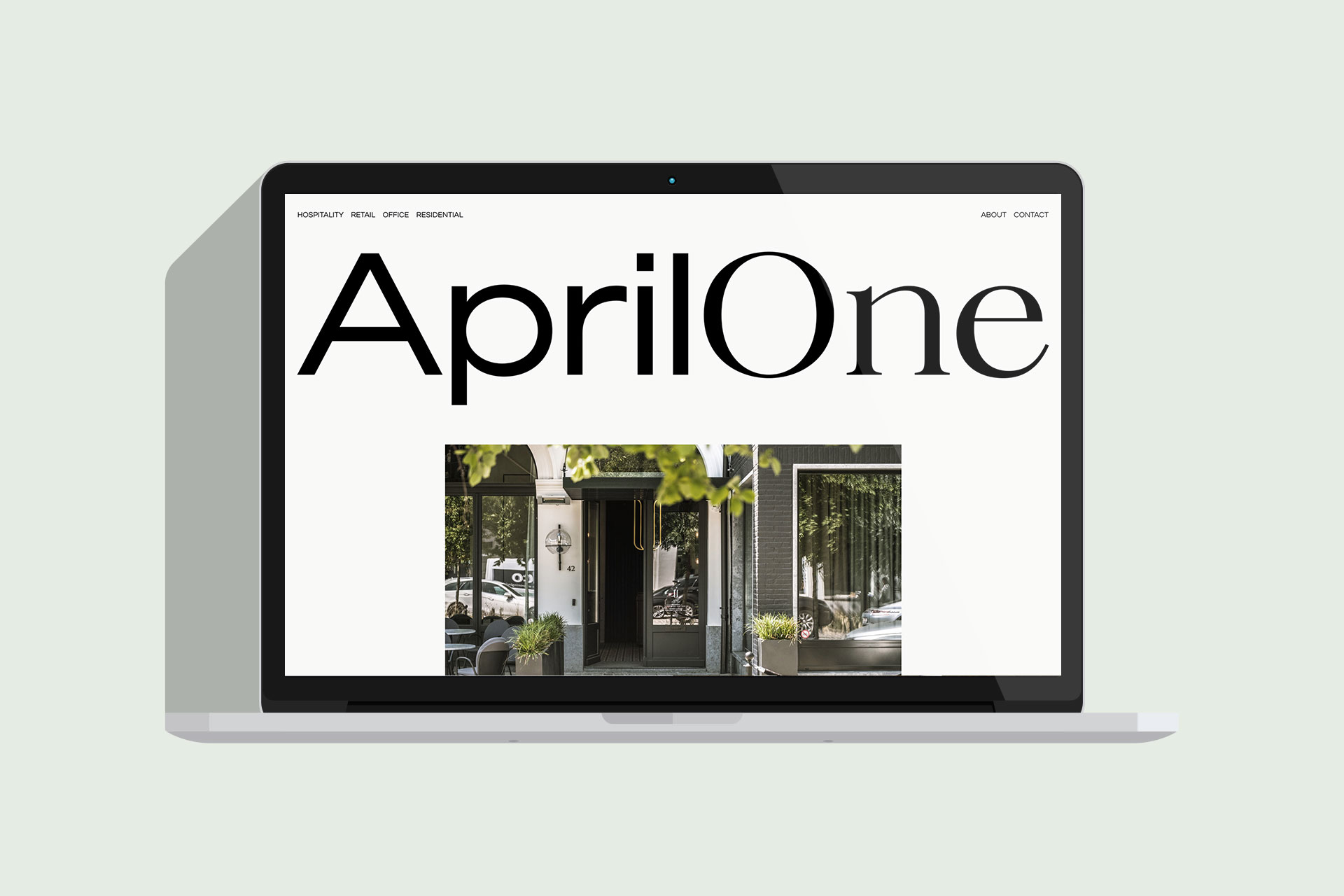 April One websiteafbeelding